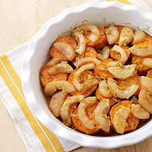 Pear and Sweet Potato Casserole