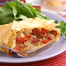 Corned Beef and Cabbage Strudel