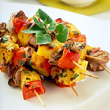 ... .com: Weight Watchers Recipe - Pork and Pineapple Skewers