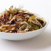 Image of roasted chicken and fennel