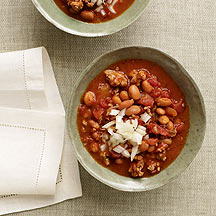 Image of slow cooker chili