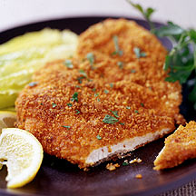 Oven Fried Paprika Chicken Cutlets