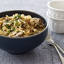 Weight Watchers Mushroom Risotto 7 pts plus