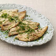 Sautéed Flounder with Fresh Herbs