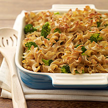 Whole Wheat Broccoli Noodle Kugel