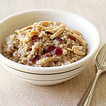 Cranberry Maple Slow Cooker Oatmeal