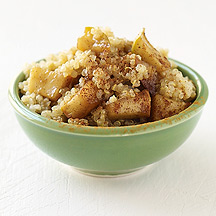 Image of Quinoa and Sauteed Apple Breakfast Cereal