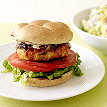 Image of Blue Cheese Chicken Burgers
