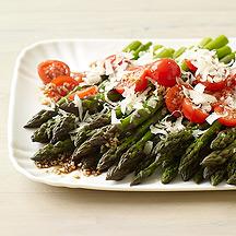 Balsamic Asparagus and Cherry Tomato Salad