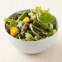 Image of grilled asparagus salad