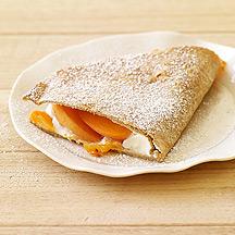 Apricot Dessert Quesadillas