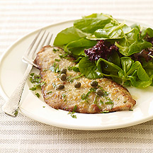 image of Veal Piccata Dish