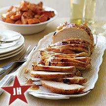 Image of Apricot Glazed Turkey and Sweet Potatoes
