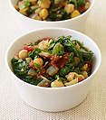 Image of Chickpea and Spinach Stew