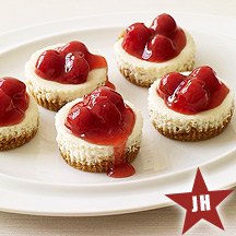 Cherry Cheesecakes