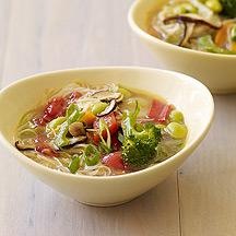 Asian Noodle Vegetable Soup