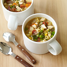 Image Super Easy Chicken Noodle Soup
