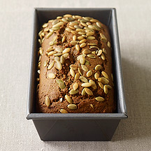 Image of  Sweet Potato Quick Bread with Pumpkin Seeds