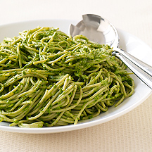 Image of  Pasta with Creamy Spinach Pesto