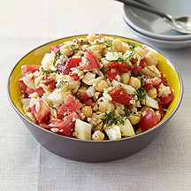 Image of  Chick Pea and Fennel Pasta Salad