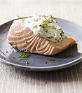Image of Cold Poached Salmon with Caper-Mayonnaise
