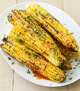 Grilled Corn with Smoked Paprika-Lime Butter