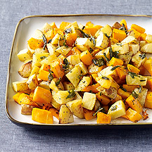 Image of  Butternut Squash and Yukon Gold Potatoes with Sage-Brown Butter