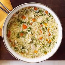 Image of Chicken, Vegetable and Orzo Soup