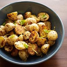 Image of Roasted Baby Potatoes with Oregano and Lemon