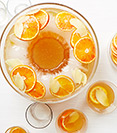 Earl Grey and Citrus-Ginger Gin Punch